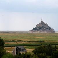 Le Mont. Mont Saint Michel. Európai képeslapok