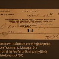 Tesla számlája. Európai képeslapok