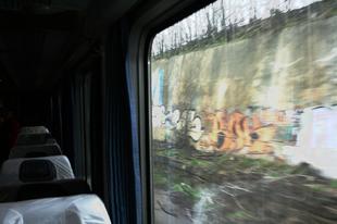 Vonatképek. Európai képeslapok