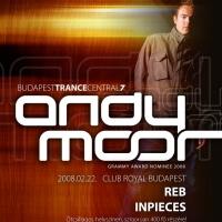 Ajánló: BTC7 - Andy Moor @ Club Royal Budapest - 2008.02.22.