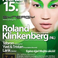 Ajánló: Synergy with Roland Klinkenberg @ Tabulounge Budapest - 2008.02.15.