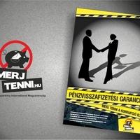 Logótervezés, plakáttervezés - Merj tenni-tervek