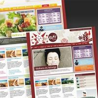 Webdesign: Női portál