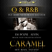 Plakáttervezés: Caramel koncert