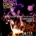 Coronita Stars (Flyer tervezés)