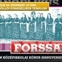 Plakáttervezés: Forssai kórus koncertje