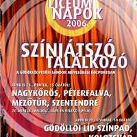 Plakát tervezés: Színjátszó találkozó
