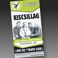 Plakát tervezés: 30Y, Kiscsillag @ Trafó Club