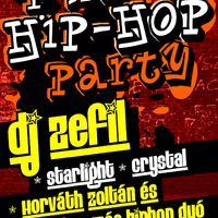Flyer tervezés: R'n'B, Hip-Hop Party