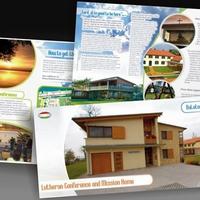 Szórólaptervezés: balatonszárszói Konferenciaközpont