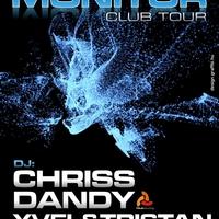 Flyer és banner a Monitor Club Tour-nak