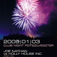 Flyer tervezés: CUE Pótszilveszter 2009