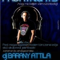 CUE Friday Night dj Bárány Attilával - flyer és banner
