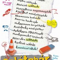 Plakáttervezés: Salátabár
