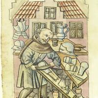 A kardkovács, a szegkovács és a paternosterkészítő