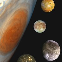 A Jupiter szeretői, avagy kis égi mitológia