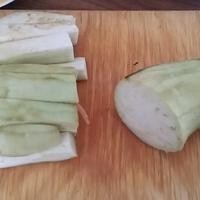 Padlizsános japán curry