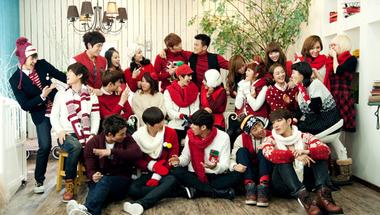 Karácsonyi K-pop lejátszási lista