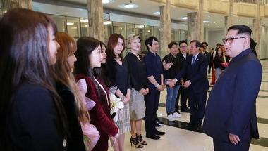 Ezek a dél-koreai popsztárok szórakoztattak Észak-Koreában