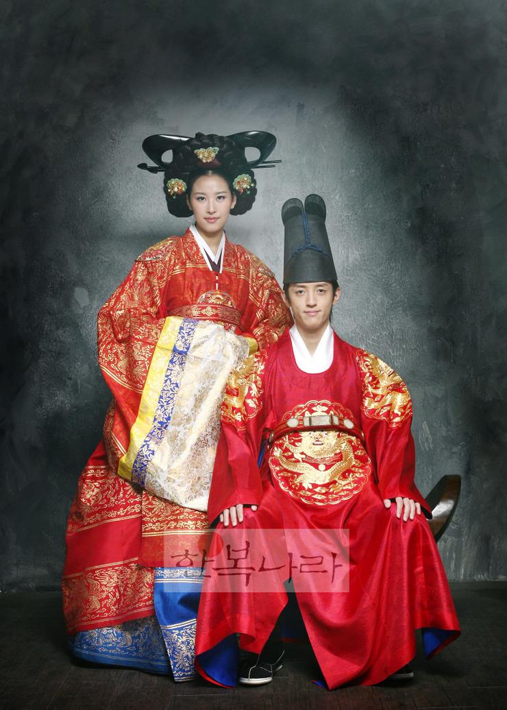 Uralkodói hanbok. Fotó: Hanboknara
