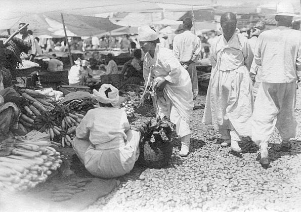 Az egyszerű emberek hanbokja. Fotó: Naver