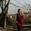 Red dream - kötött ruha mínuszokhoz