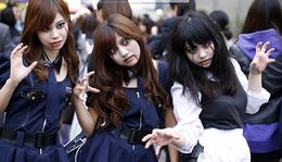 7. nap - Halloween Tokyoban