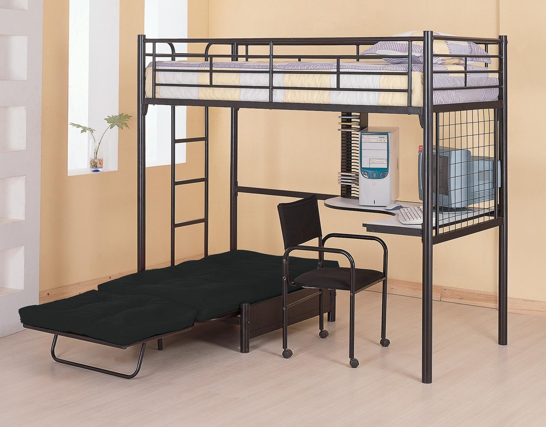 cute-kids-loft-beds-with-desk-underneath-chic-black-iron-kids-loft-bed-design-corner-white-tops-surface-desk-fordable-bed-frame-underneath-black-bedroom-desk-furniture-bedroom-extraordinary-black-bed.jpg