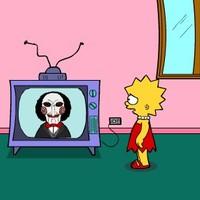 Lisa Simpson Saw Game