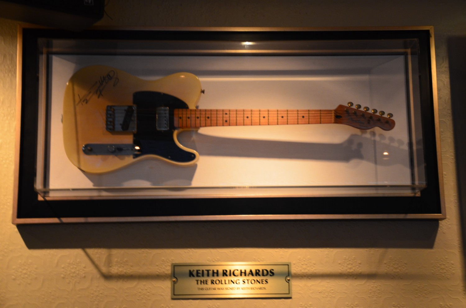 Keith Richards gitarja