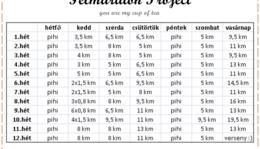 Félmaraton Project