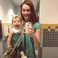 Ez a kislány tiszta anyja