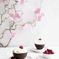 Csokikehely marcipánkrémmel