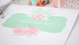 Letölthető nyomtatható esküvőtervező füzet