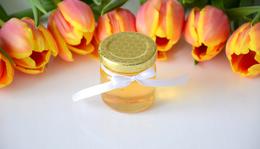 Méz befőttes üvegben