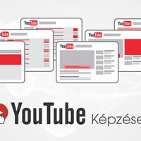 YouTube képzéseket indítunk!