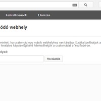 Remek újdonság a YouTube-on! Külső weboldalra mutató link elhelyezése a videókon