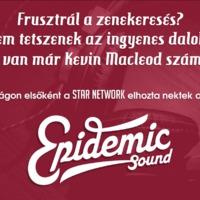 Epidemic Sound – 30.000 elérhető zeneszám a Star Network-nél