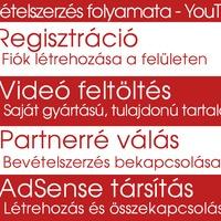 YouTube Partnerség és Bevételszerzés (Monetizáció) regisztráció