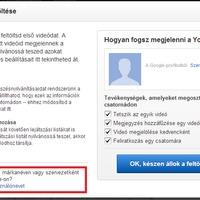 Regisztráció és csatorna létrehozás a YouTube felületén