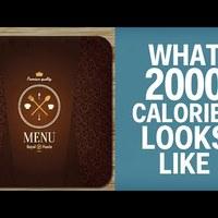 2000 kalória