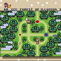 Amikor Mario szivat: Forest of Illusion