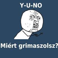 Y-U-NO