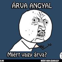 ÁRVA ANGYAL