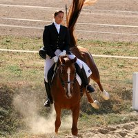 Zita lovam első versenye