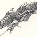 Grafika reloaded: idegen hajó tollrajzok (2. rész)