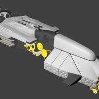 Koordinátor 3D modell