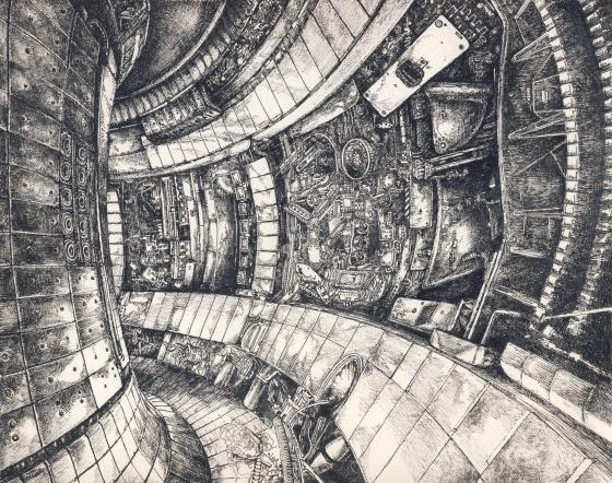 fúziós reaktor tollrajz