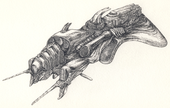 behemót tollrajz