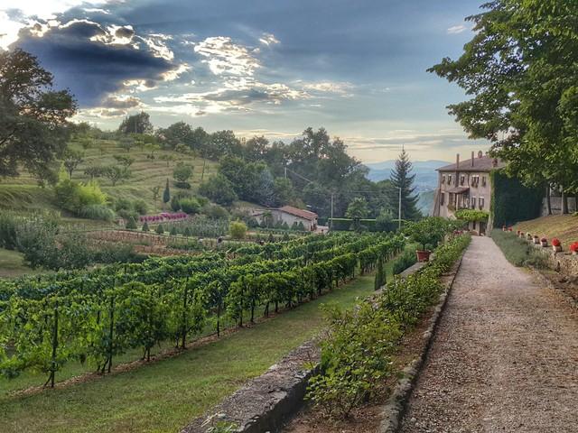 Assisi-Róma zarándokút 6.Nap (via Francigena di San Francesco)